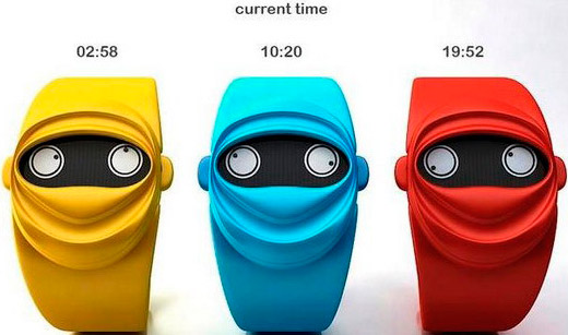 Robot watch Ninja Time - defination of time