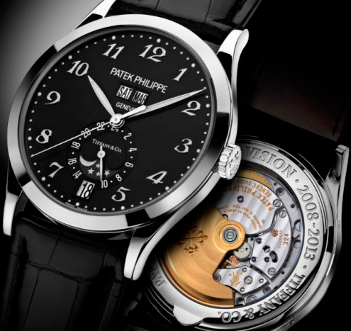 Patek Philippe Annual Calendar watch for Tiffany & Co