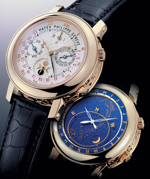 Grand Complications The Most Complicated Watches - Star map watch