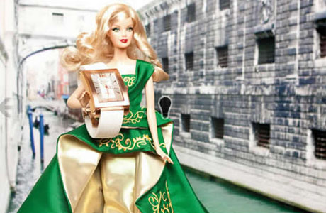 Barbie Happy doll presents Pilo & Co Corleone watch