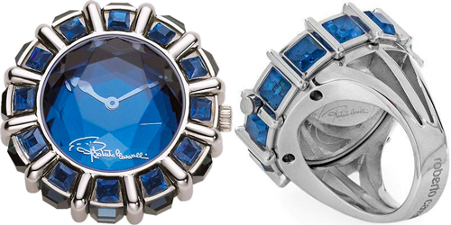 ring-watch Queen Ring by Roberto Cavalli