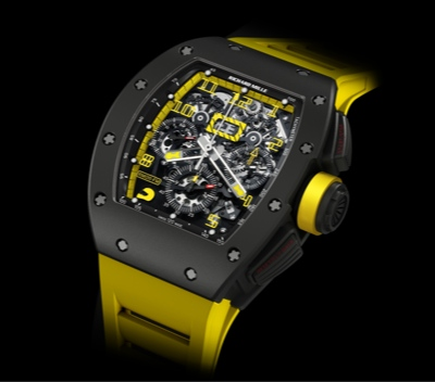 Richard Mille RM 011 Felipe Massa Flyback Chronograph CARBON