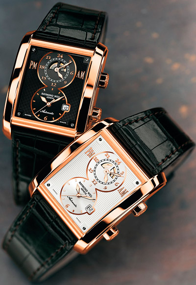 Raymond Weil Don Giovanni Cosi Grande Two Time Zones watches