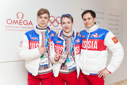 Russain Short track team