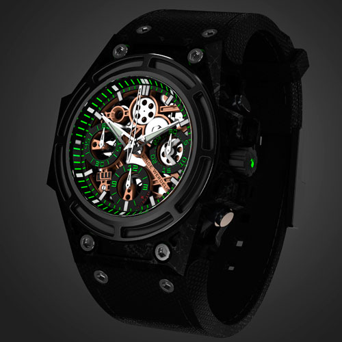 SpidoSpeed Green Watches