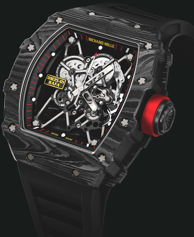 Richard Mille 35-01 Rafa Nadal watch