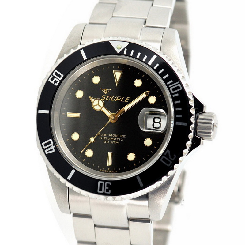 new squale 20 atmos vintage watch