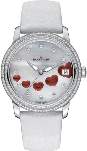New Ultraplate Saint Valentin 2013 Watch by Blancpain for ...