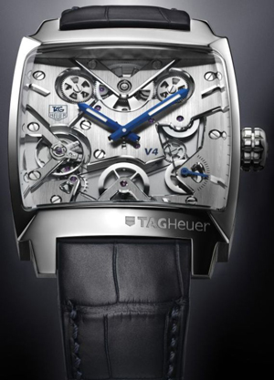 concept watch - TAG Heuer Monaco V4