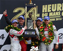 TAG Heuer Ambassadors – Winners of 24 Hours of Le Mans