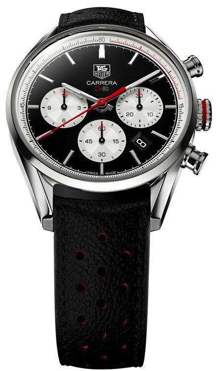 Carrera Calibre CH 80 Chronograph Watches by TAG Heuer
