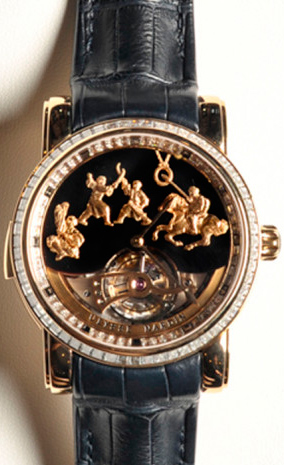 Ulysse Nardin Genghis Kahn Westminster Carillon Tourbillon Jaquemarts Minute Repeater watch