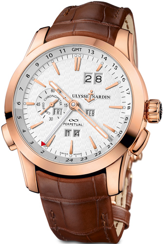 Perpetual Manufacture watch by Ulysse Nardin