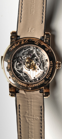 Ulysse Nardin Genghis Kahn Westminster Carillon Tourbillon Jaquemarts Minute Repeater watch caseback