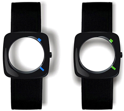 Eye of the Storm watch from Chinese designer Yiran Qian