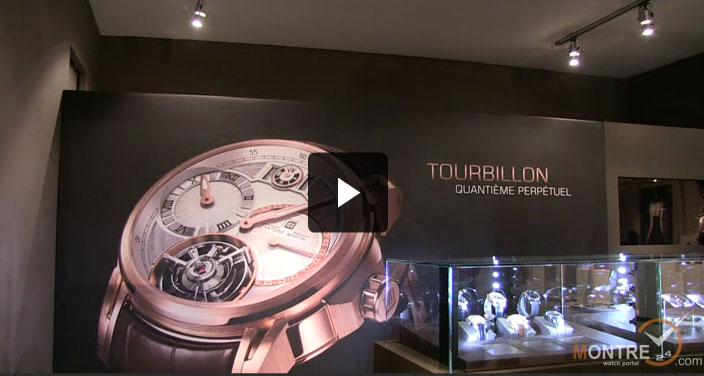 Antoine Martin watches presentation at BaselWorld 2012