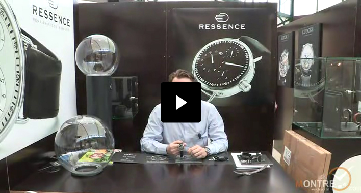Ressence watches presentation at BaselWorld 2012