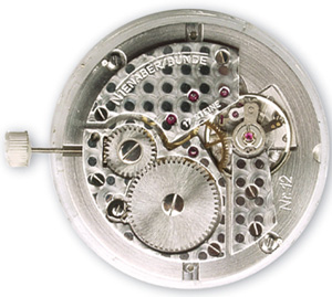 Regulator watch movement