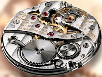 Vacheron Caliber 1003 manufacturing mechanism