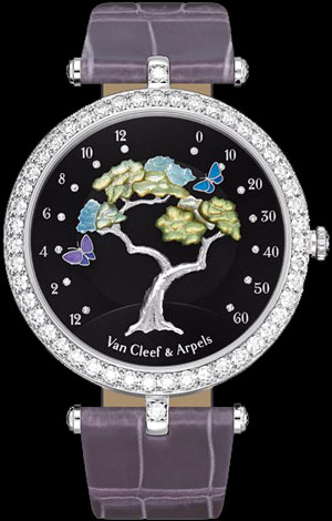 Van Cleef & Arpels Butterfly Symphony watch
