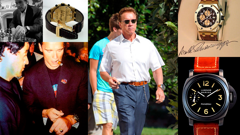 Time for Terminator: Arnold Schwarzenegger and his watches