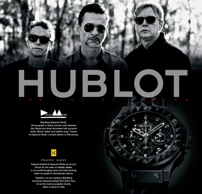 Hublot and Depeche Mode
