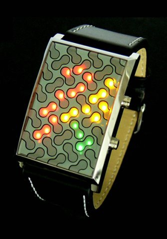 Virus binary watch