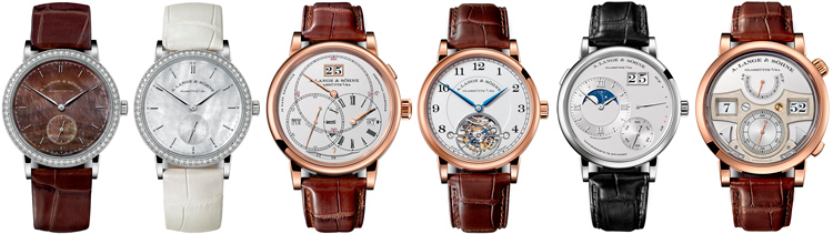 A. Lange & Söhne watches: Saxonia, Saxonia, Richard Lange Perpetual Calendar «Terraluna», 1815 Tourbillon, Grand Lange 1 Moon Phase, Lange Zeitwerk Striking Time
