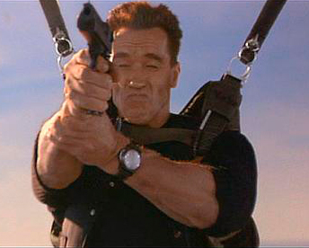 Schwarzenegger and his Panerai