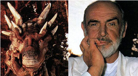 Draco and Sean Connery