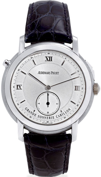 Jules Audemars Grande Sonnerie Repetition Minutes Carillon watch
