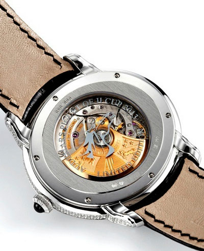 Audemars Piguet Millenary QEII Cup 2013 Limited Edition watch caseback