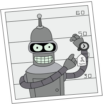 Image result for bender stock robot
