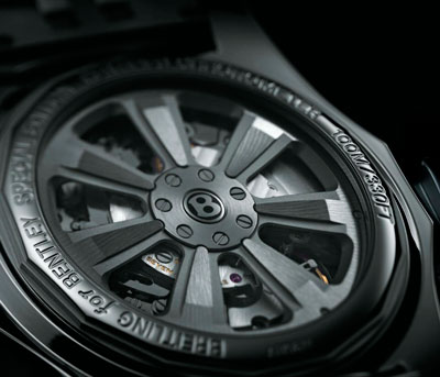 Breitling for Bentley B06 Chronograph watch caseback