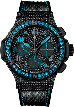 Big Bang Black Fluo watch by Hublot