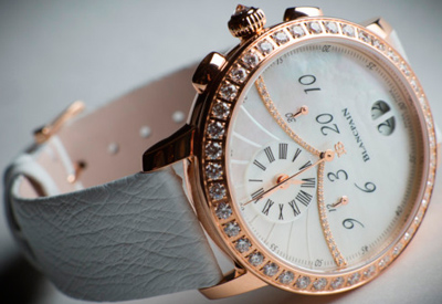Ladies watch Blancpain Chronograph Grande Date