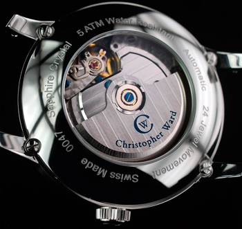 C-90 Power Reserve watch backside