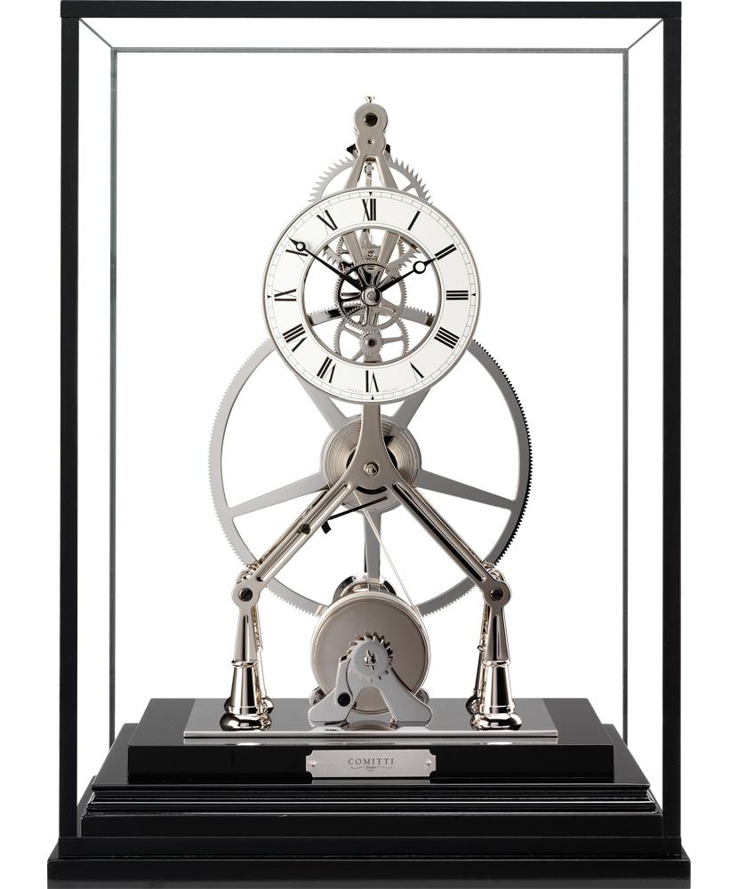 Skeleton At Desk Desk skeleton clock comitti
