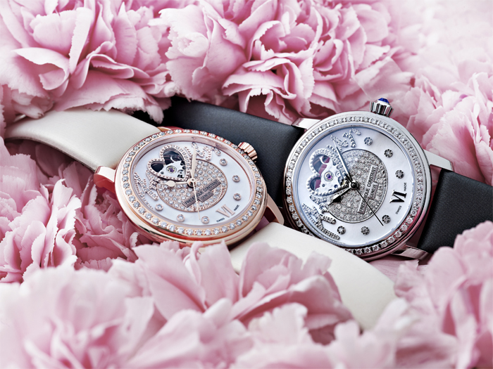 New Pavée Amour collection by Frédérique Constant with automatic caliber