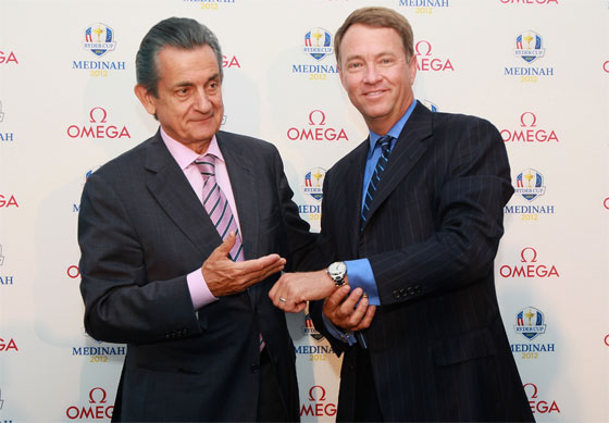 the golfer Davis Love III has complimented the list of Omega's ambassadors