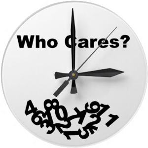 "funny antiwatch ""Who cares"""