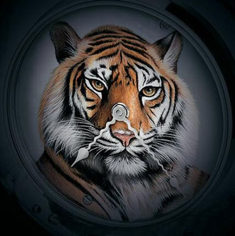 watch with tiger image