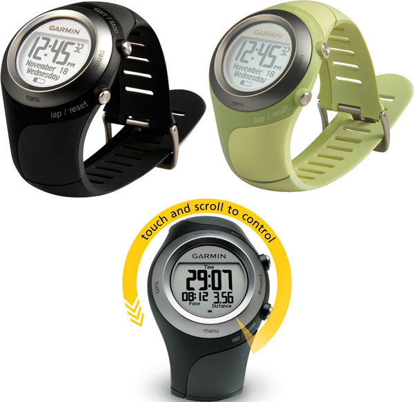 Sporty watches Forerunner 405