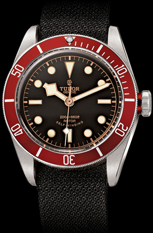 Heritage Black Bay watch by Tudor