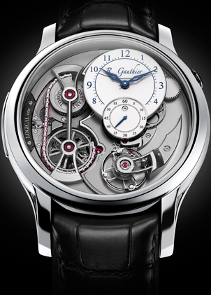 Logical One watch by Romain Gauthier