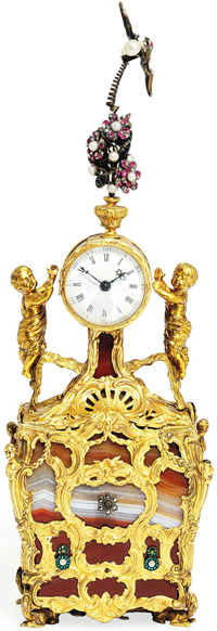 desk clock, belonged to the Russian Emperor Pavel I