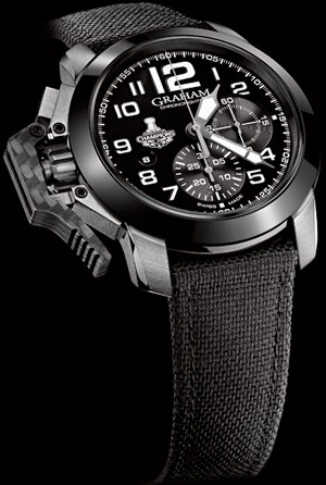 GRAHAM Chronofighter Oversize LA Kings watch