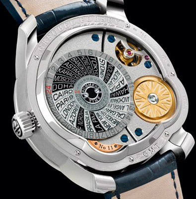 Greubel Forsey GMT watch caseback