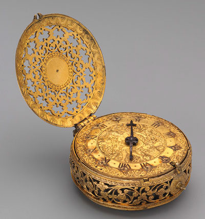 Striking clock of 1600-1610s. Master Michael Nouen (London)