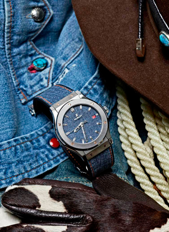 Hublot Classic Fusion Jeans watch